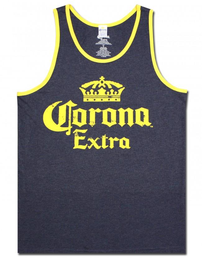 Corona Extra Contrast Men S Tank Top Boozingear Com