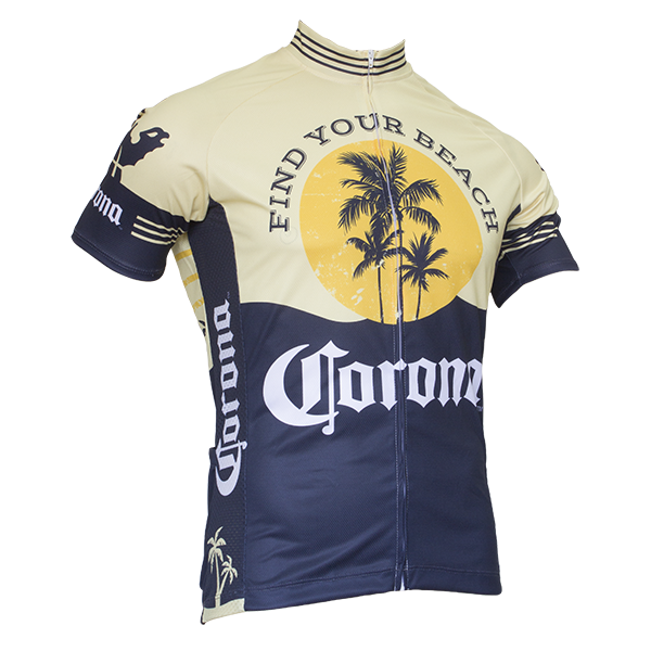 Corona Extra Rretro Cycling Jersey Boozingear Com
