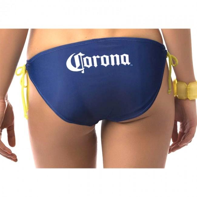 Corona Extra Beer Label String Bikini Boozingear Com