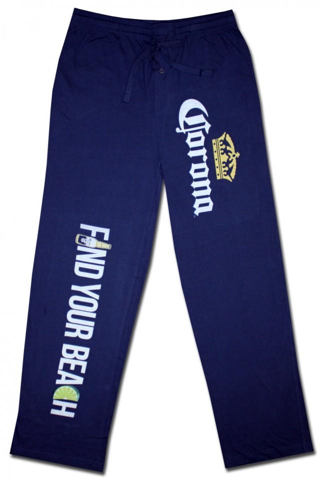 Corona Beer Logo Print Mens Loungewear Lounge Pants