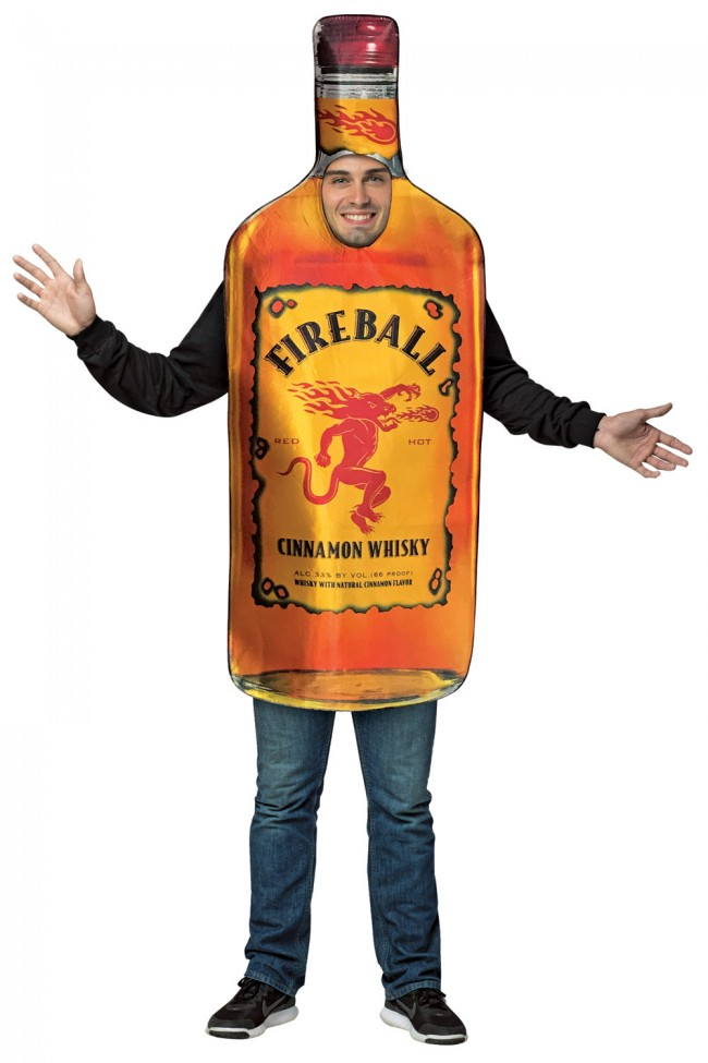 Fireball Cinnamon Whisky Bottle Costume Boozingear Com