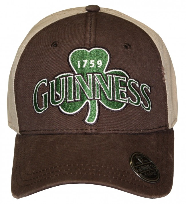 Guinness Rustic Shamrock Hat W Opener Boozingear Com
