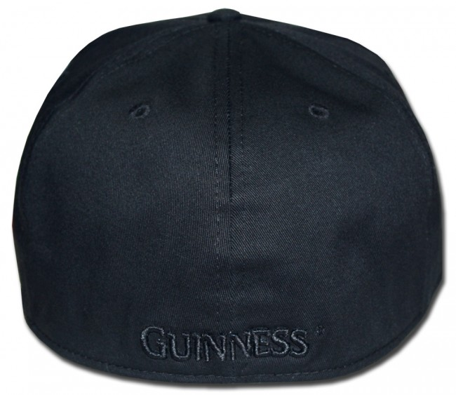 d876a1773aa16 Home  Guinness Black Harp Flat Brim Hat. Front. Zoom · Front · Center · Back