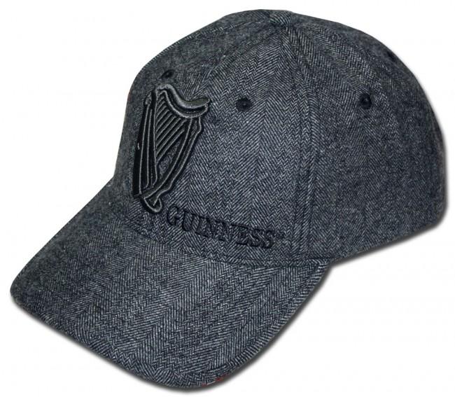 Guinness Charcoal Harp Hat Boozingear Com