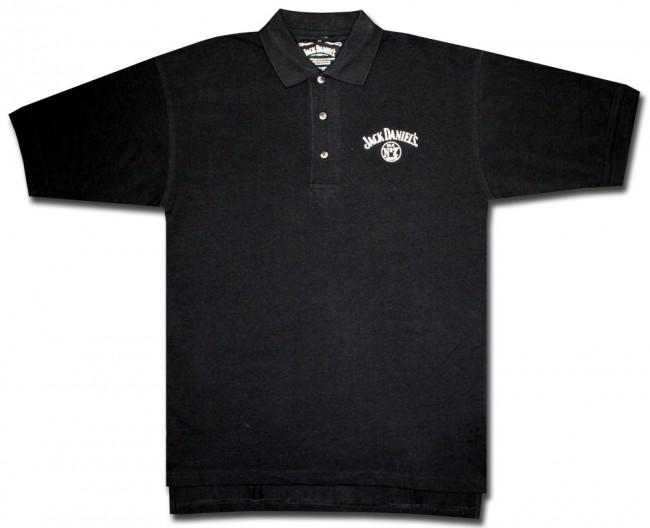 jack daniel 39 s old no 7 logo polo shirt. Black Bedroom Furniture Sets. Home Design Ideas