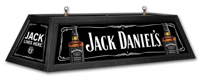 Elegant Jack Danielu0027s Billiards Light Fixture