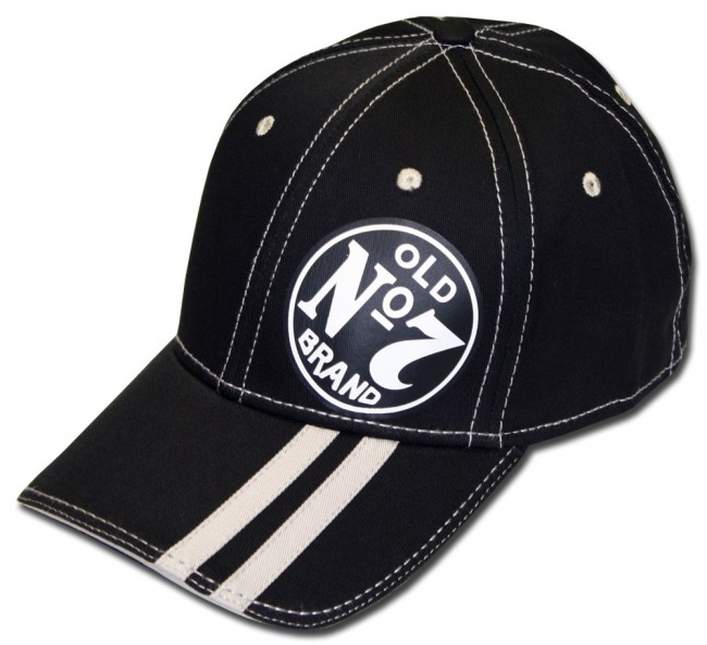 Jack Daniel S Dual Striped Whiskey Logo Hat