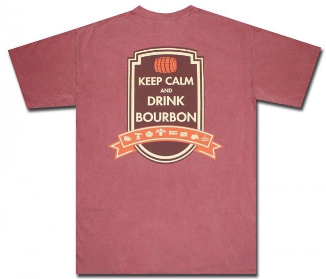 Keep Calm And Drink Bourbon T Shirt Boozingear Com