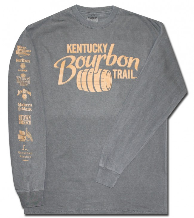 Kentucky Bourbon Trail Long Sleeve T-Shirt