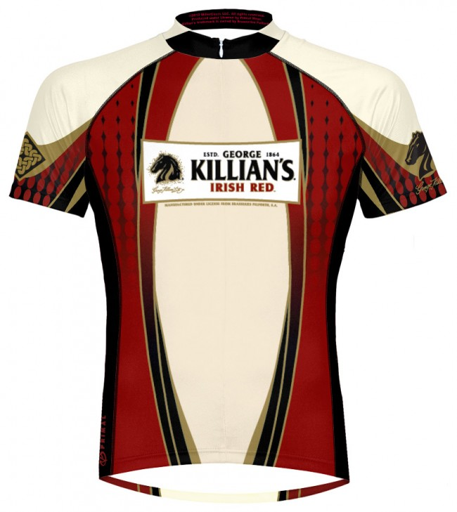 George Killian S Irish Red Cycling Jersey Boozin Gear