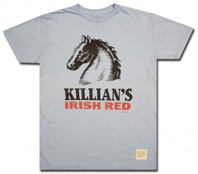 Killian S Irish Red Sky Retro T Shirt Boozingear Com