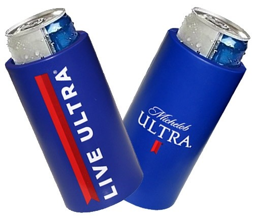Michelob Ultra Wasted Slim Can Beer Koozie Coozie