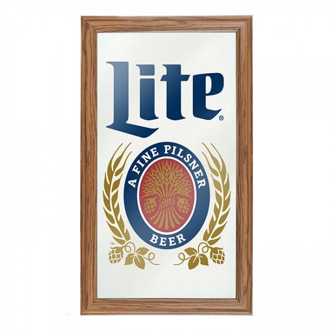 Miller Lite Bar Mirror | Officially Licensed Miller Bar Mirror