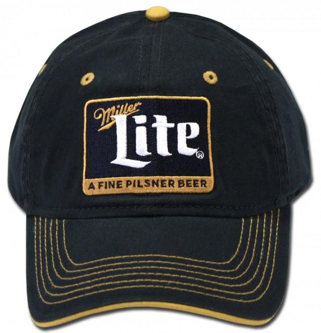 ... Miller Lite Navy Reverse Hat. Front. Zoom · Front · Center 395f9b696f2d