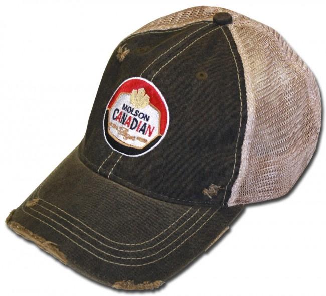 Molson Canadian Retro Mesh Hat Boozingear Com