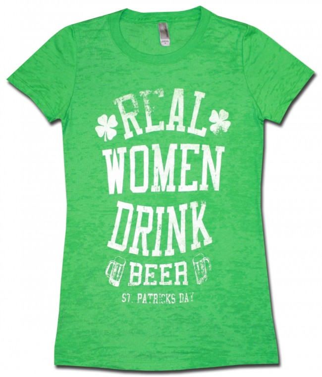 Real Women Drink Beer Babydoll Shirt