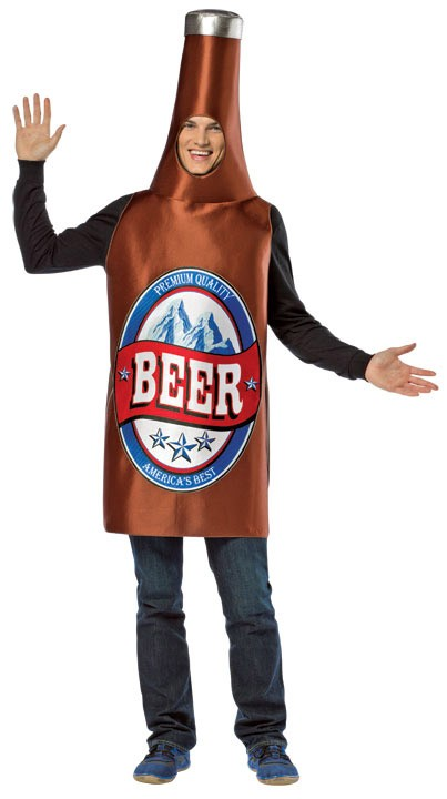 Beer Bottle Costume  Lightweight Premium  sc 1 st  BoozinGear.com & Beer Costumes | Halloween Beer Costumes u0026 Drinking Costumes