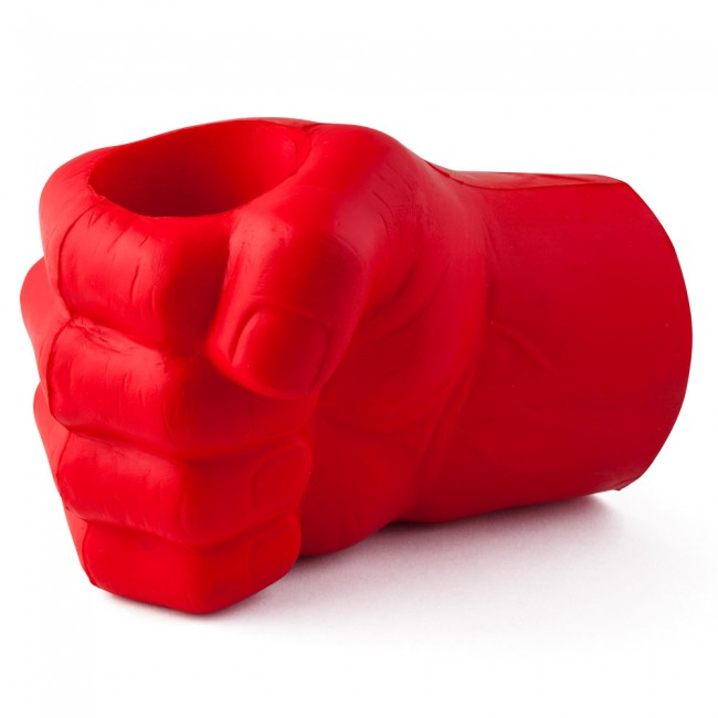 Red Giant Fist Glove Koozie | BoozinGear.com