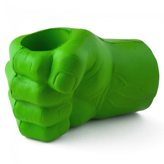 Green Giant Fist Glove Koozie Boozingear Com