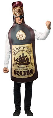 Rum Bottle Costume Boozingear Com