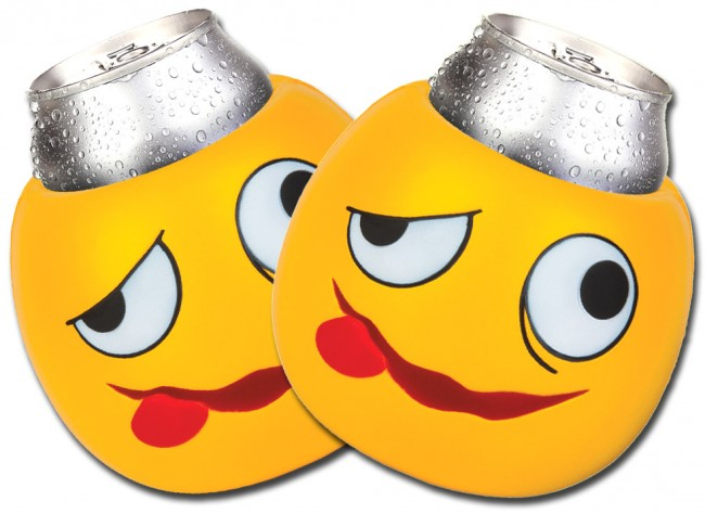 Drunk Face Emoji Can Koozie Set Boozingear Com