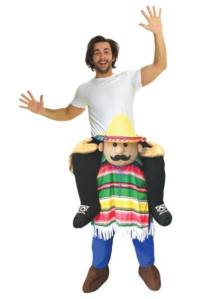 Mexican Amigo Piggyback Costume Boozingear Com