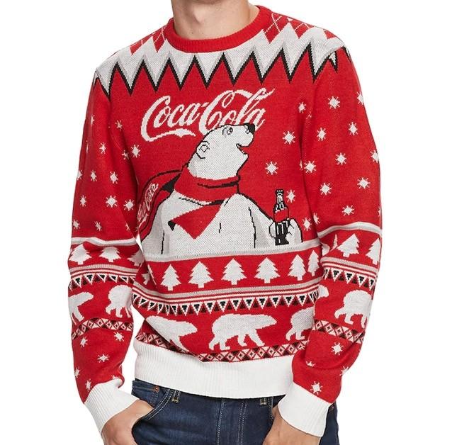Coca Cola Polar Bear Ugly Christmas Sweater Boozingear Com