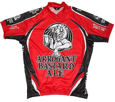 Arrogant Bastard Ale Cycling Jersey Officially Licensed