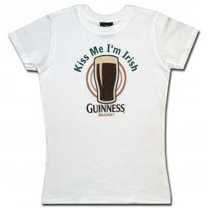 Guinness Kiss Me Babydoll Shirt