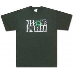 Kiss Me Im Irish T Shirt