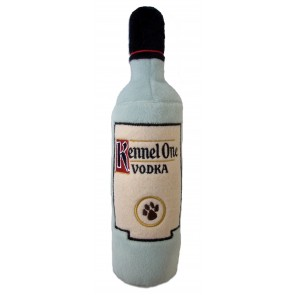 Kennel One Vodka Dog Toy : Bottle Plush Squeaker