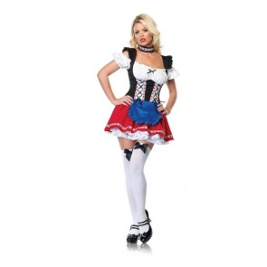 Frisky Fraulein Costume : Four Color Beer Girl