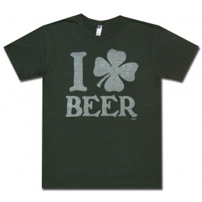 "St. Patrick's ""I Clover Beer"" T Shirt"