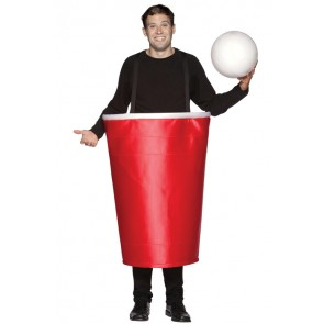Beer Pong Costume : Life Sized Red Cup