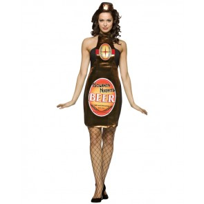 Beer Bottle Costume : Golden Nights Women's Dress