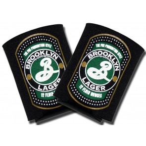 Brooklyn Lager Coozies : Collapsible Coolie Set