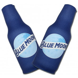 Blue Moon Graphic Bottle Coozie Set
