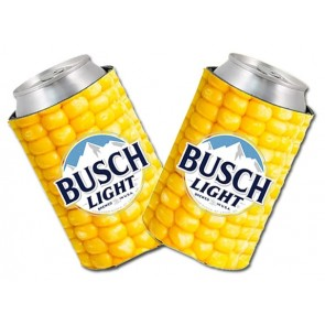 Busch Light Collapsible Corn Coozie Set