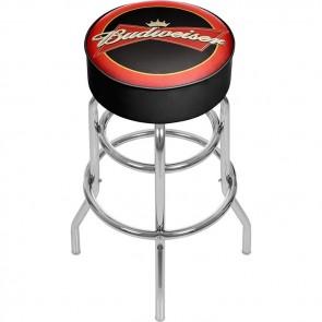 Budweiser Bowtie Logo Bar Stool