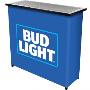 Bud Light Two Shelf Portable Bar