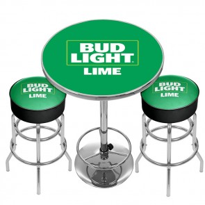 Bud Light Lime Pub Combo : Bar Stools & Table
