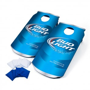 Bud Light Cornhole Beer Can Board Set