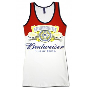 Budweiser Long Bottle Women's Tank Top
