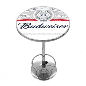 Full Label Budweiser High Top Pub Table