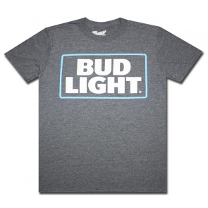 Heather Blue Bud Light T Shirt