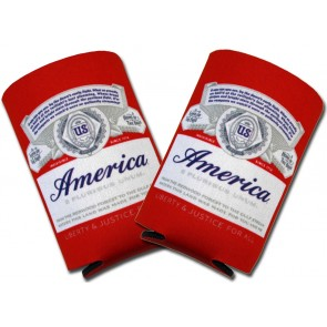 "Budweiser ""America"" Collapsible Koozies"