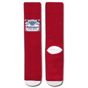 Budweiser Red Label Crew Socks