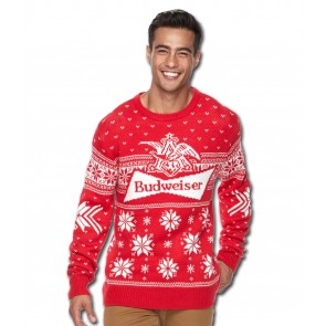 Budweiser Classic Ugly Christmas Sweater