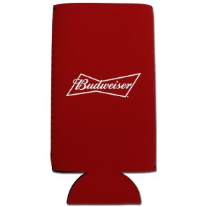Budweiser 24oz Collapsible Can Koozie