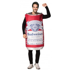 Budweiser Beer Can Costume